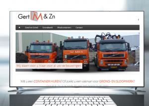 gertm.nl - een geheel nieuw website design