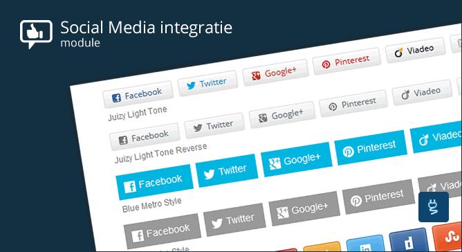 Social Media integratie module