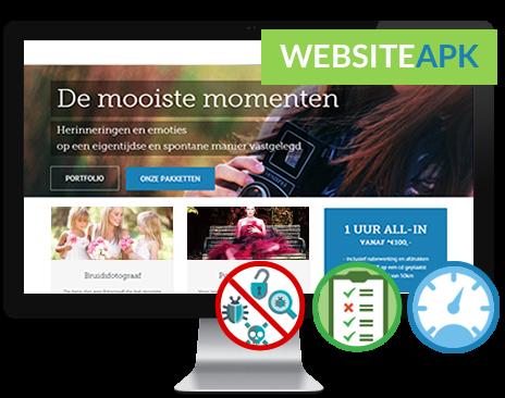 Doe de GRATIS website APK en ontdek de cruciale fouten op uw website