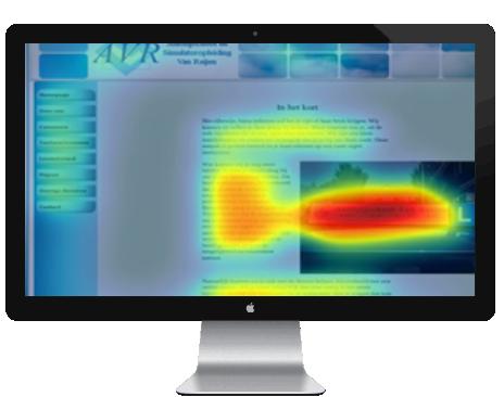 Doe de GRATIS website heatmap en ontdek waar uw bezoekers naar kijken als zij op uw website belanden