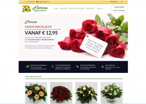 Webdesign website Bloemboetiek florisa