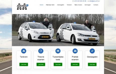 Website Rijschool A2-A15