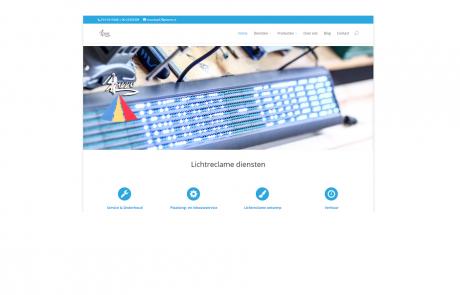 webdesign barro lichtreclame