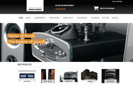 Webdesign Sense of Music