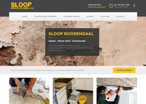 Webdesign Sloop Roosendaal