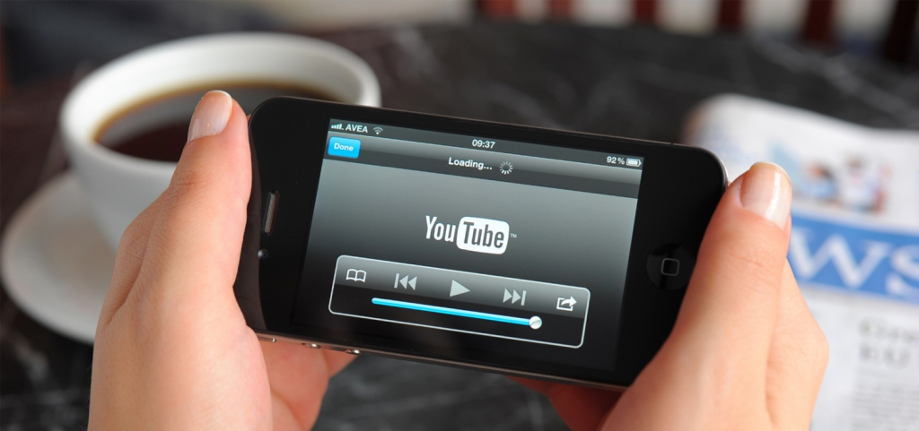 Smartphone video bekijken