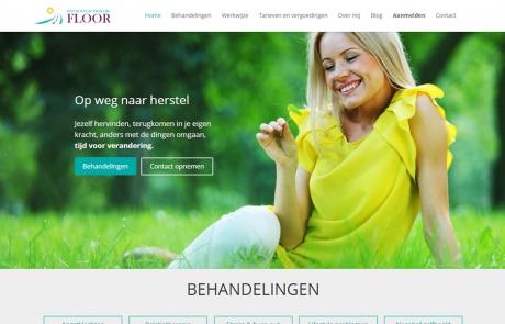Website Psychologie praktijk Floor